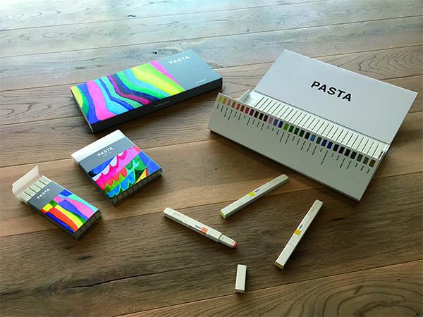 「Kokuyo Colors」第一彈彩色麥克筆「PASTA」
