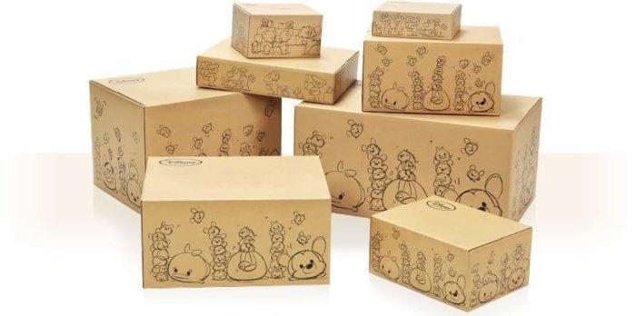 日本迪士尼網路商店包裝紙箱