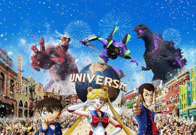 柯南、美少女戰士、進擊的巨人登場!「日本環球影城・Cool Japan 2019」