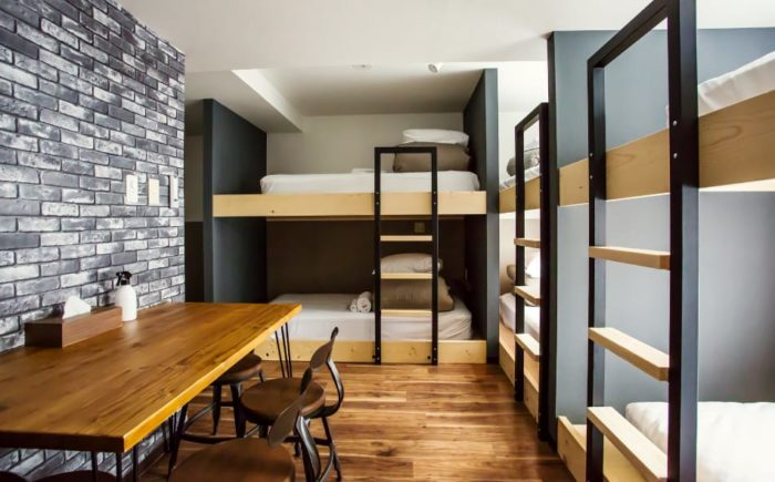 北海道札幌平價住宿tentoten hostel sapporo family room upto 6