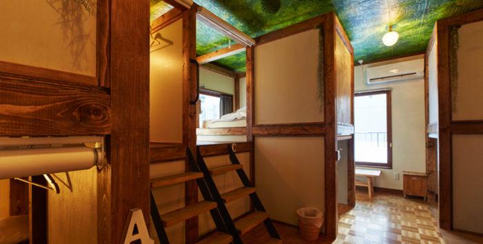 北海道札幌平價住宿UNTAPPED HOSTEL房間