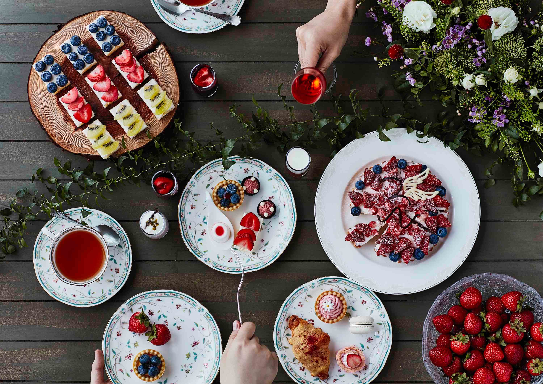 樁山莊22種種類的草莓甜點與午餐吧 限定餐點登場! 飯店、