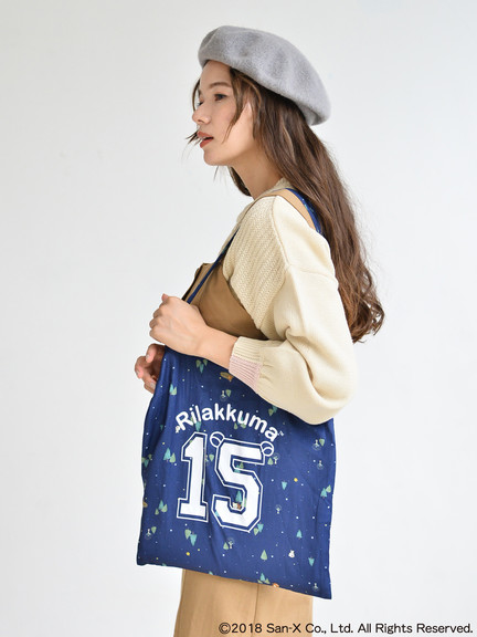 earth music&ecology X Rilakkumaリラックマ15週年紀念商品-購物袋