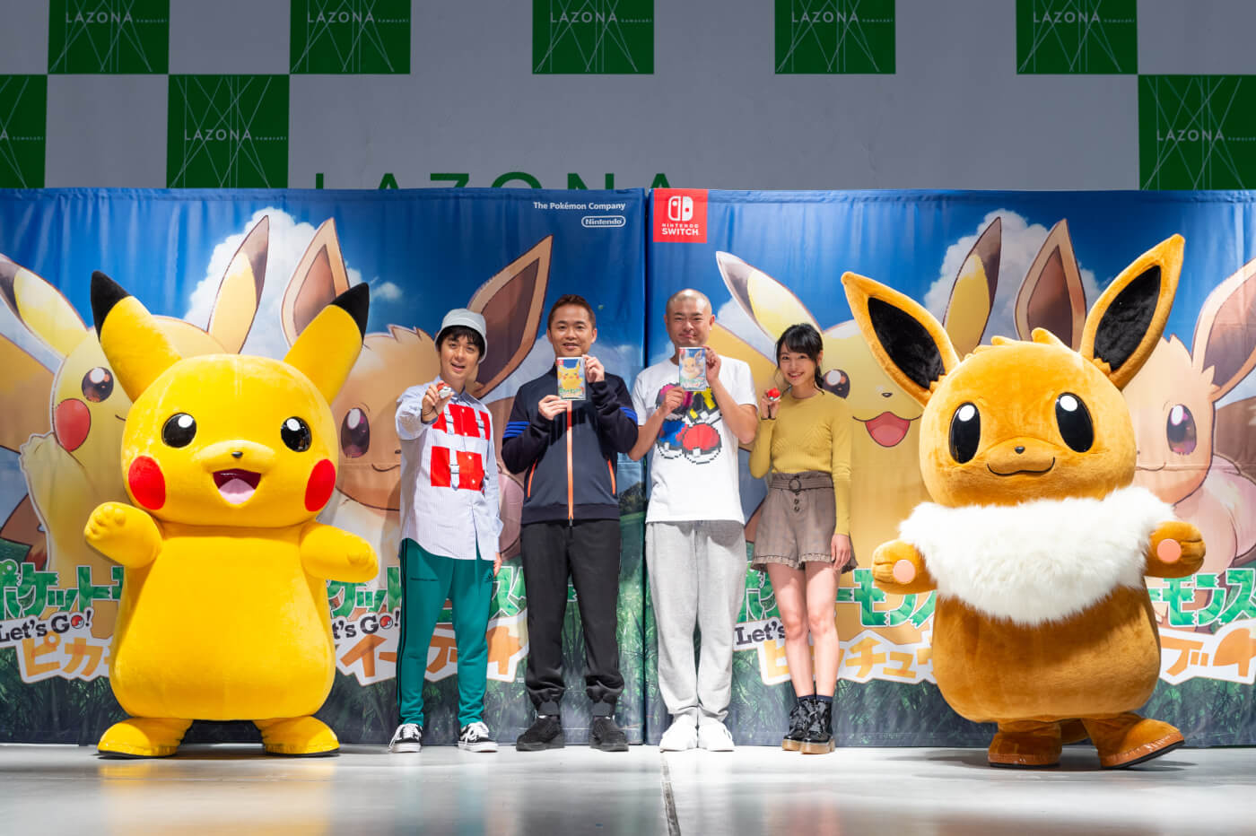 Nintendo Switch「精靈寶可夢 Let's Go! 皮卡丘・Let's Go! 伊布」發售 精靈寶可夢、