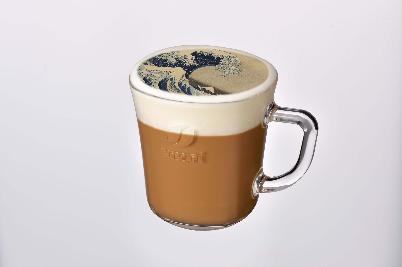 鑑賞梵谷、莫內、葛飾北齋名畫咖啡廳 東京「Nescafe 原宿」 咖啡廳、在原宿、藝術、