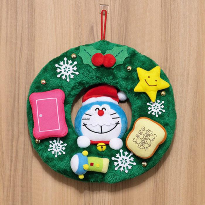 哆啦A夢聖誕圈