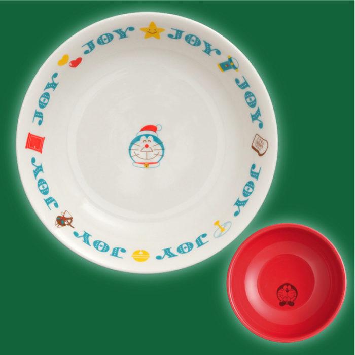 哆啦A夢聖誕碗盤組2