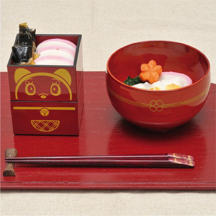 哆啦美特別的日子食器組