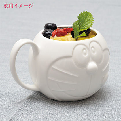 哆啦A夢厚實馬克杯應用