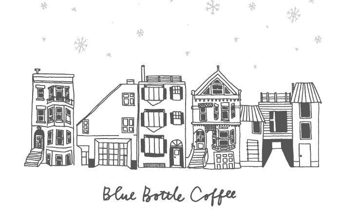 藍瓶HOLIDAY GIFT COLLECTION 2018插畫