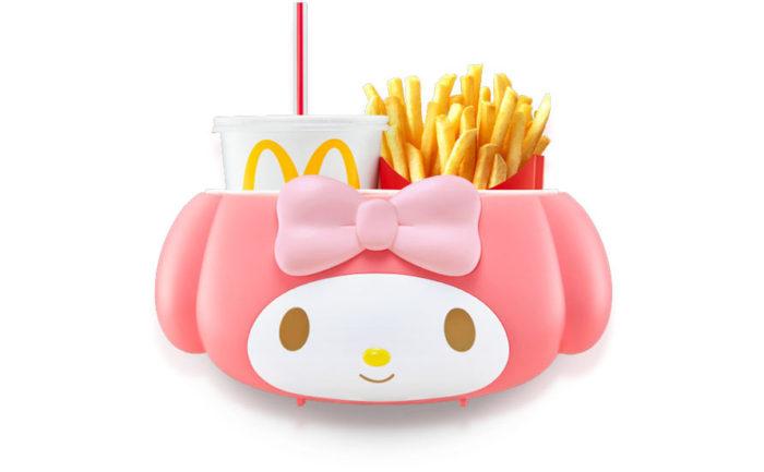麥當勞飲料提籃-美樂蒂
