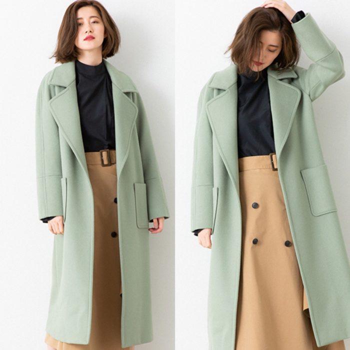 結衣同款大衣