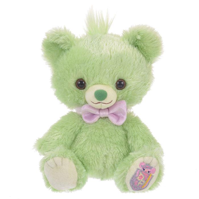 日本迪士尼商店大學熊UniBearsity公主熊PrincessBear_魔法奇緣變色龍帕斯卡綠色版