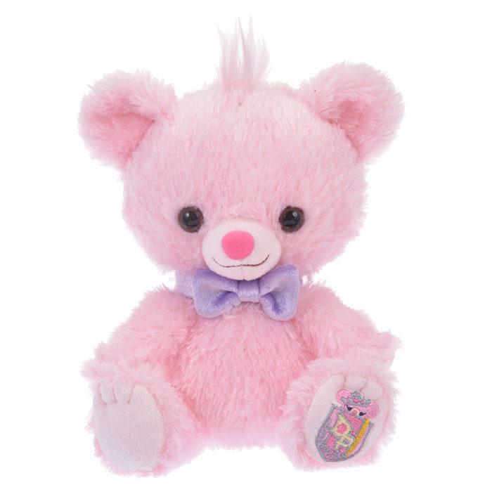 日本迪士尼商店大學熊UniBearsity公主熊PrincessBear_魔法奇緣變色龍帕斯卡粉紅版