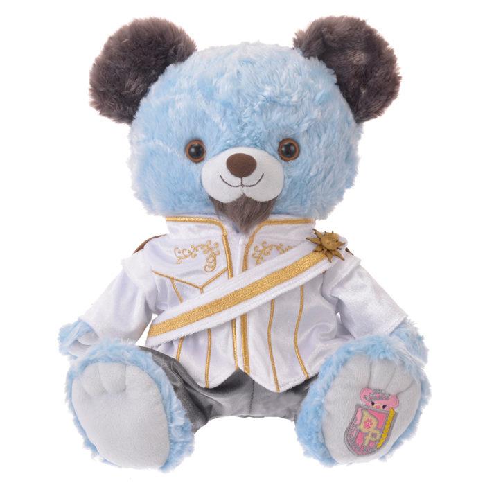 日本迪士尼商店大學熊UniBearsity公主熊PrincessBear_魔法奇緣長髮公主費林禮服
