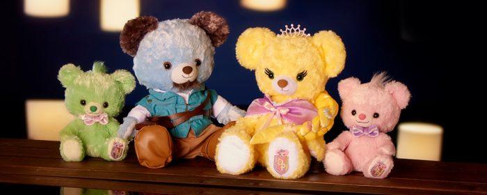 日本迪士尼商店大學熊UniBearsity公主熊PrincessBear_魔法奇緣