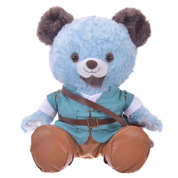 日本迪士尼商店大學熊UniBearsity公主熊PrincessBear_魔法奇緣長髮公主費林正面