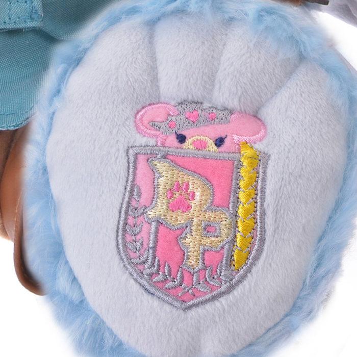 日本迪士尼商店大學熊UniBearsity公主熊PrincessBear_魔法奇緣長髮公主費林腳底