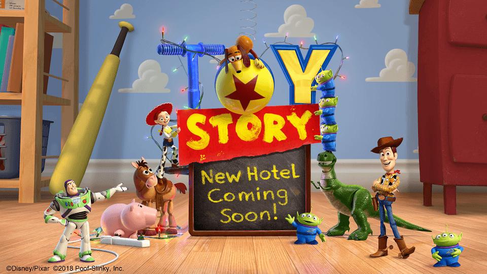 以電影《玩具總動員》為主題的迪士尼飯店預計開幕 東京迪士尼樂園、飯店、