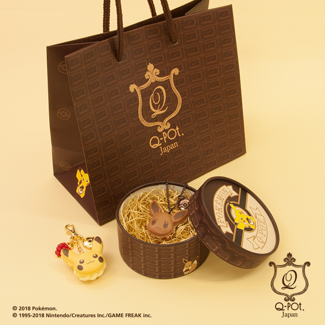 Q-pot. x POKEMON-限定包裝