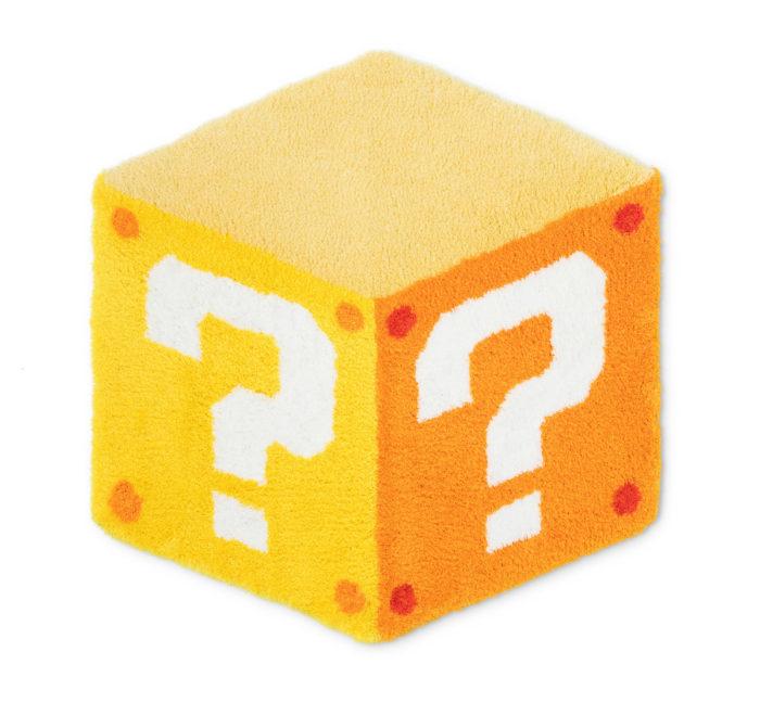 問號方塊迷你地墊