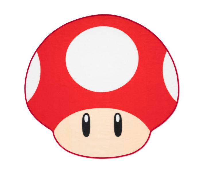 超級蘑菇迷你毛毯