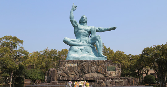長崎旅遊推薦觀光景點_平和公園原爆資料館