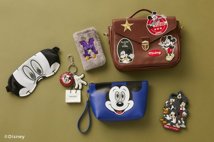 Disney SERIES CREATED by MOUSSY 5th collection週邊商品