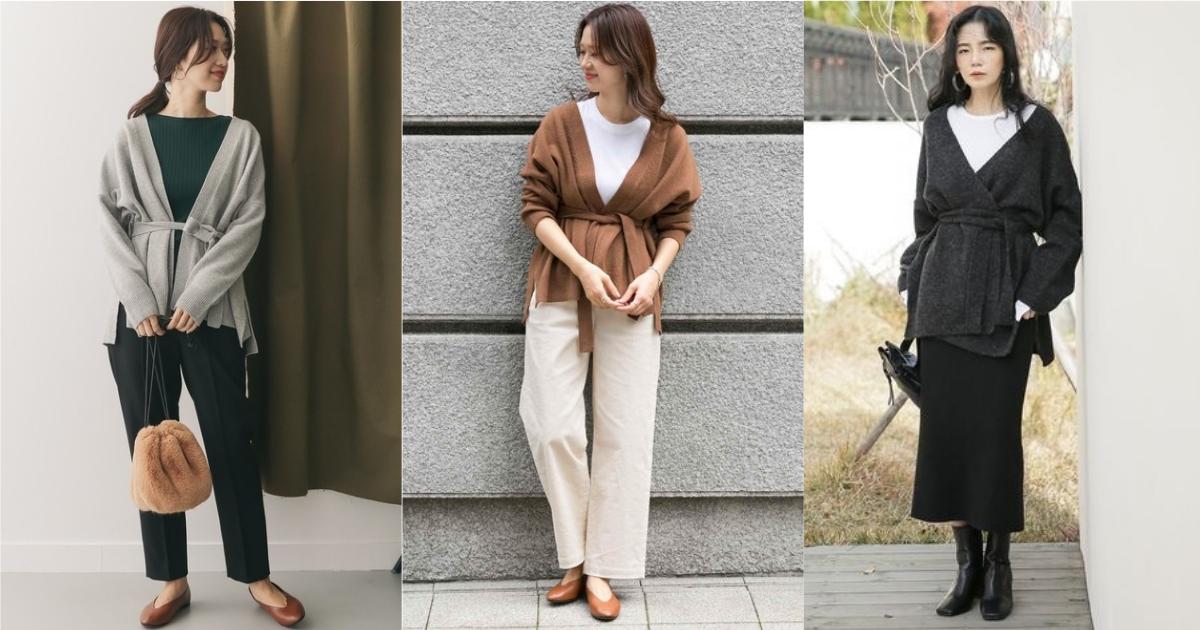 腰身上衣是保暖卻不臃腫的關鍵!6套讓你顯瘦過冬的穿搭參考