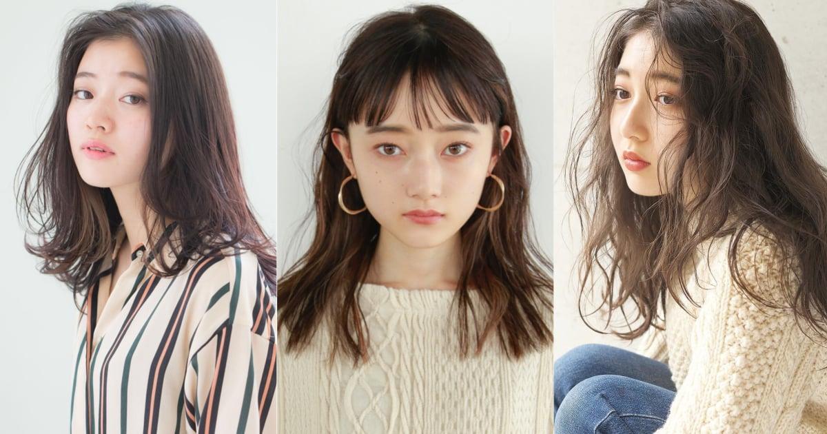 日本女生美容院指名率第一!任誰都可以輕鬆詮釋「中長髮」的日系風格