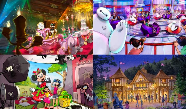 東京迪士尼2020春季 「美女與野獸」、「大英雄天團」遊樂設施開幕 東京迪士尼度、