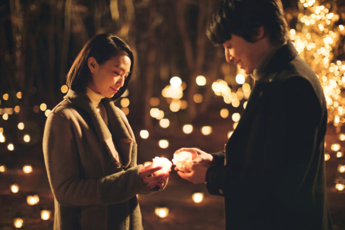Christmas Candle Night 2018手拿蠟燭