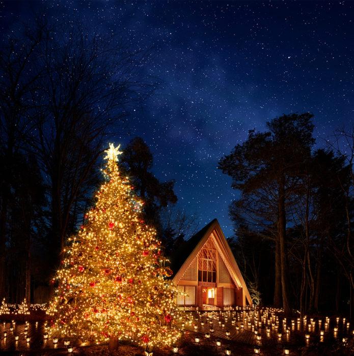 Christmas Candle Night 2018聖誕樹與燭光