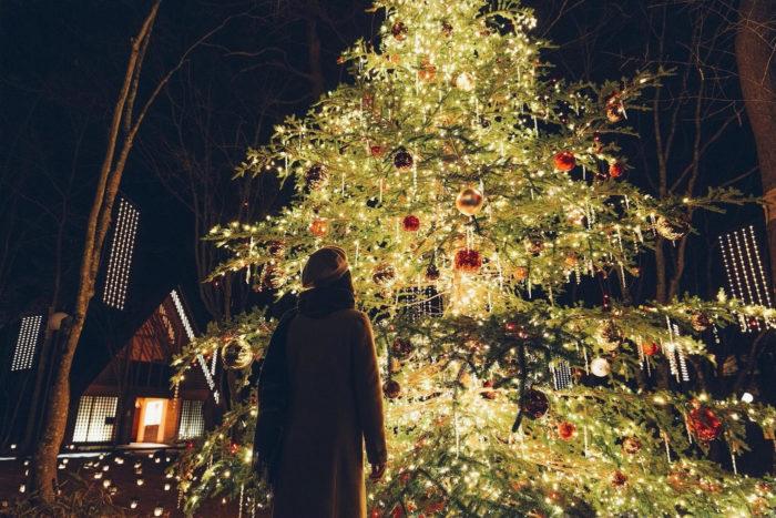 Christmas Candle Night 2018聖誕樹近照