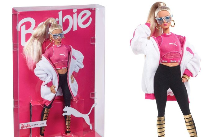 300份限定!PUMA運動鞋「SUEDE」50週年紀念芭比發售 Barbie_、PUMA_、