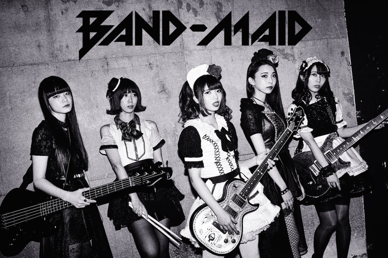 BAND-MAID新歌「glory」與新單曲「Bubble」將決定同日發售 BAND-MAID_、