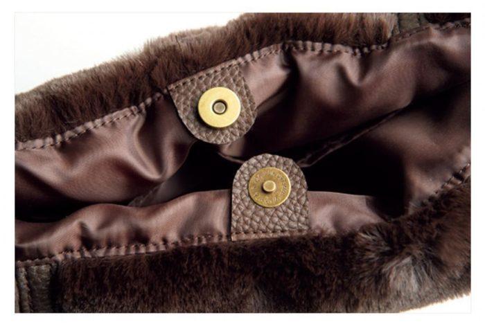 Harriss毛毛束口造型包包扣