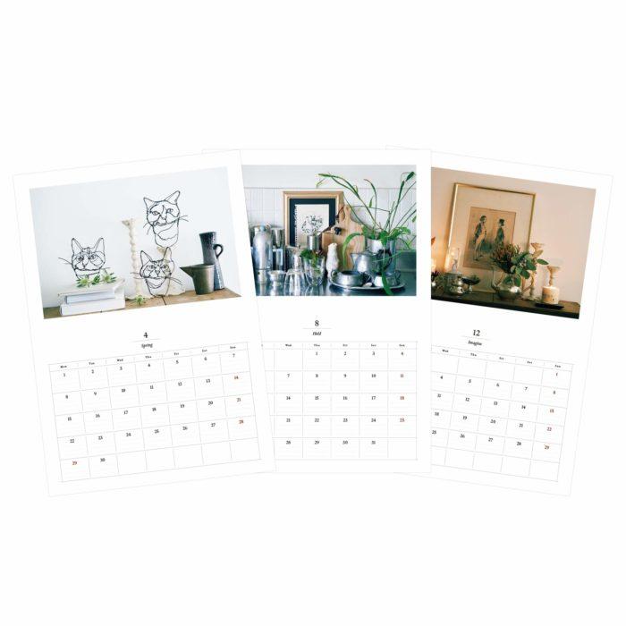 12 SENSES月曆