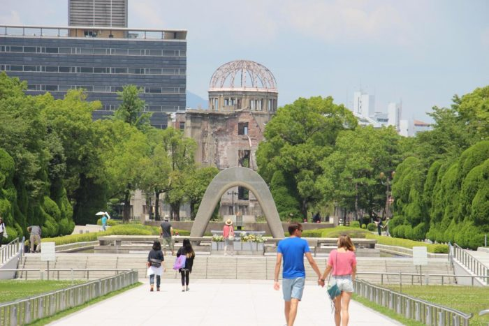廣島旅遊推薦觀光景點_平和紀念公園及原子彈爆炸遺址