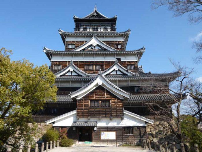 廣島旅遊推薦觀光景點_廣島城