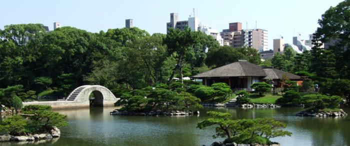 廣島旅遊推薦觀光景點_縮景園