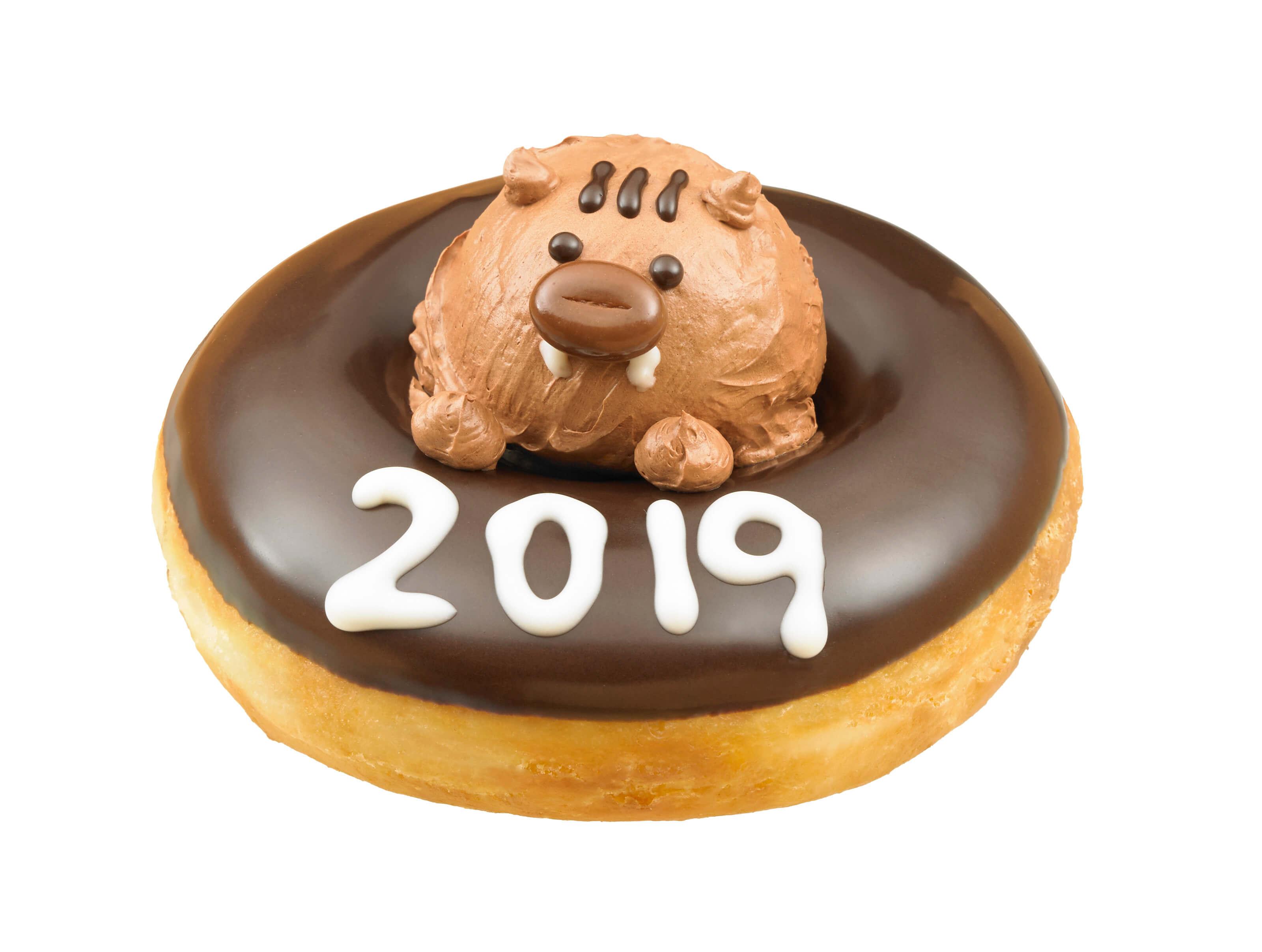 Krispy Kreme慶祝新年的達磨&亥登場 krispykremedoughnuts、