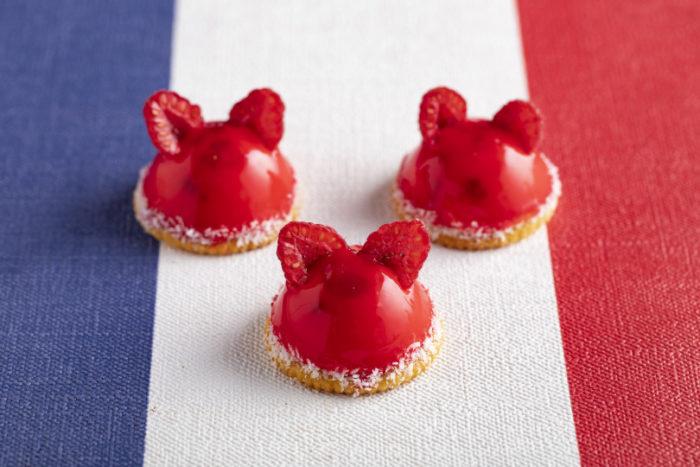 草莓貓咪慕斯