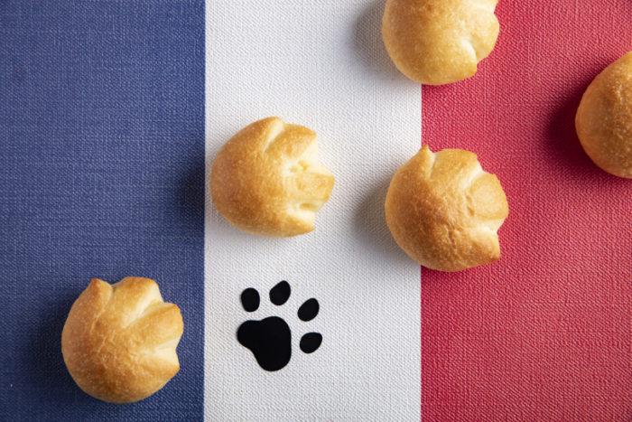貓掌奶油麵包