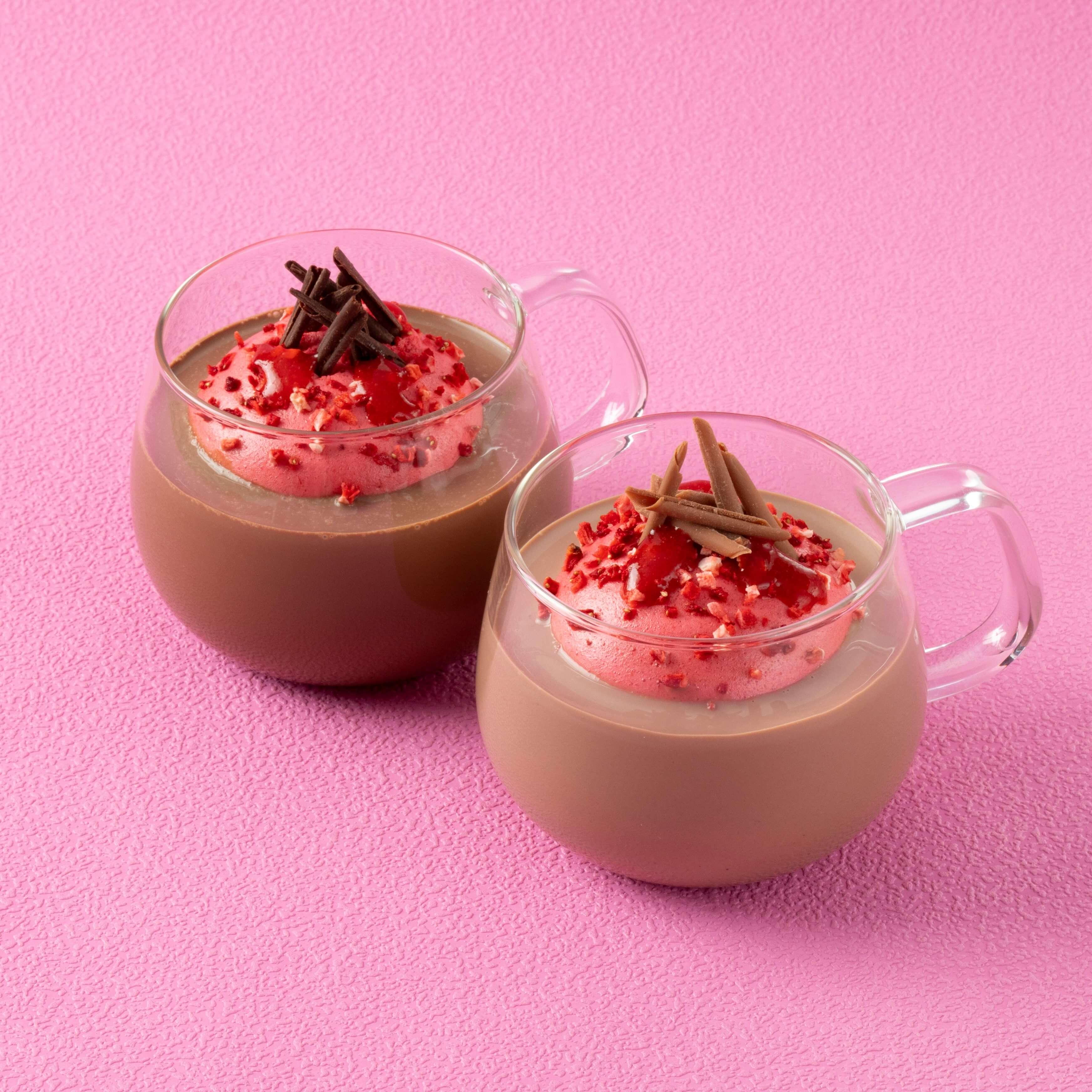 Lindt巧克力咖啡廳 情人節期間限定飲品販售 Lindt_、巧克力、情人節、