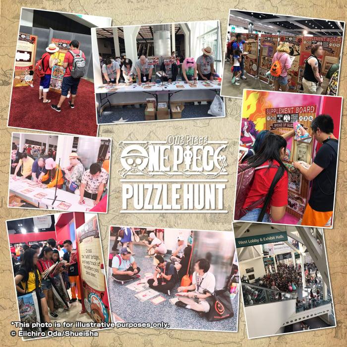 ONE PIECE真人逃脫遊戲「ONE PIECE PUZZLE HUNT」將在新加坡舉辦 航海王、