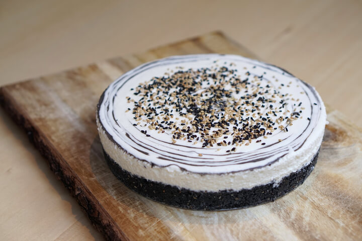 原宿「GOMAYA KUKI」黑芝麻與榛果大理石起司蛋糕再次登場 在原宿、甜點、