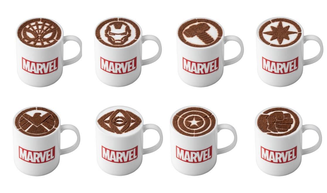 電影《驚奇隊長》紀念公開聯名咖啡廳 於大阪開幕 合作、咖啡廳、