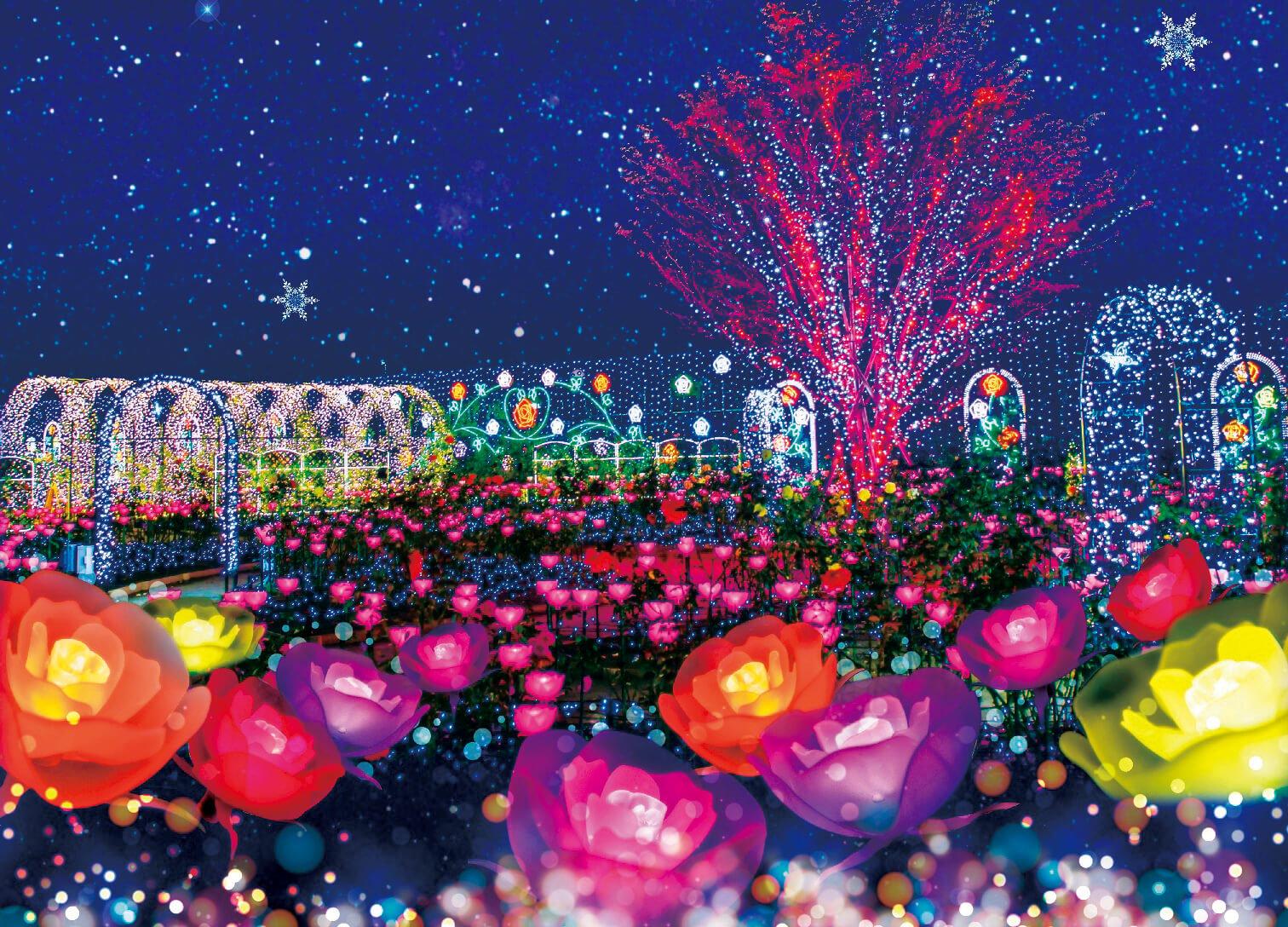 到三月都還可以觀賞!「日本夜景遺產」所認定的栃木推薦燈飾展景點 在栃木、燈飾、