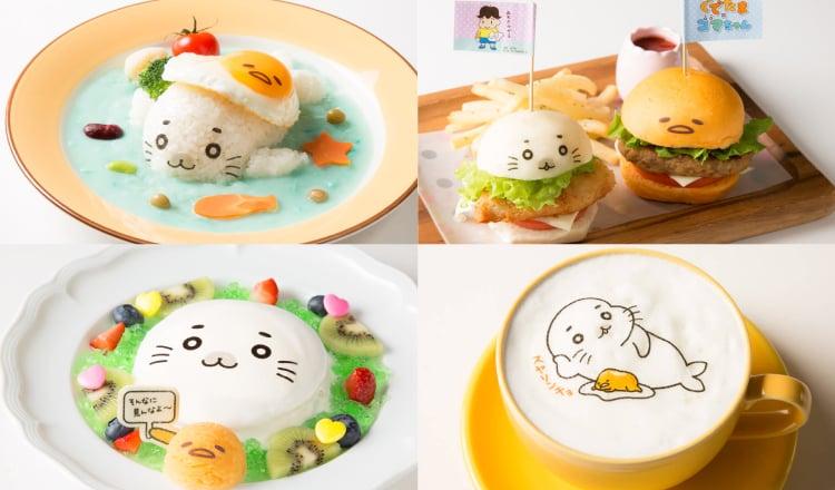 蛋黃哥×Goma醬首次合作!大阪、梅田「蛋黃哥咖啡廳」中展開 合作、蛋黃哥、